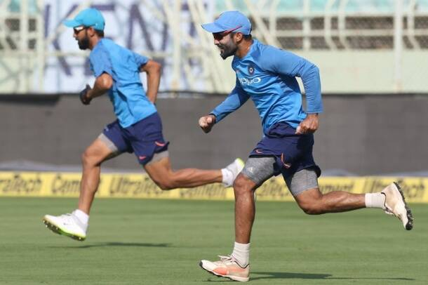 India sweat it out in the nets ahead of series-deciding third ODI vs Sri Lanka