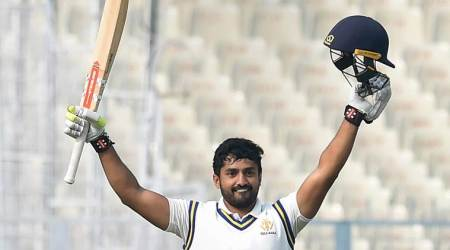 Ranji Trophy 2017: Karun Nair, the 'forgotten one', dusts up memory with disciplinedcentury