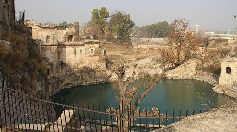 What is the Katas Raj Temple case