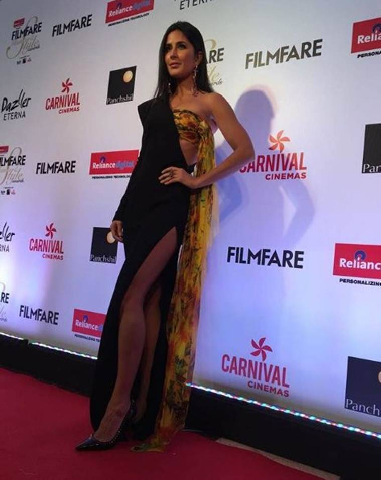 katrina kaif  at filmfare glamour and style awards