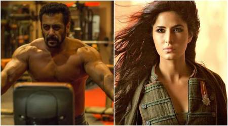 Tiger Zinda Hai: Katrina Kaif gets into Sultan mode as Salman Khan flaunts his chiselled body. Watch video