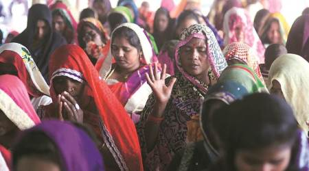 Allahabad HC order on their side, Kaushambi group gathers to pray on Christmaseve