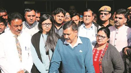 Delhi CM Arvind Kejriwal meets assaulted social worker, 6 held