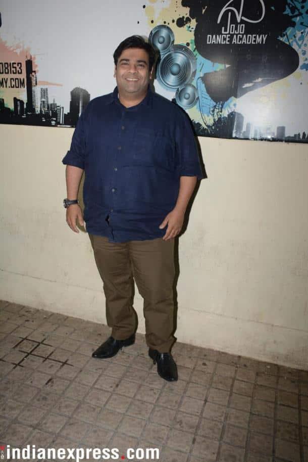 Kiku Sharda posed for the cameras.