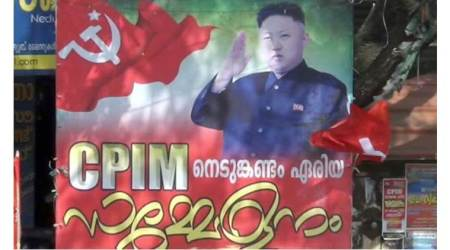 Kerala: CPM left red-faced after Kim Jong-un picture appears on poster