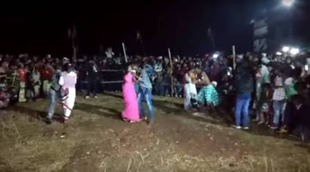 Video: Kissing competition held in Jharkhand village 'to prevent married couples from divorce'