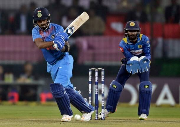 Rohit Sharma's record century against Sri Lanka -- in photos