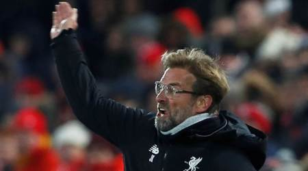 WATCH: Jurgen Klopp reacts furiously to penalty claim in post-match interview following Everton draw