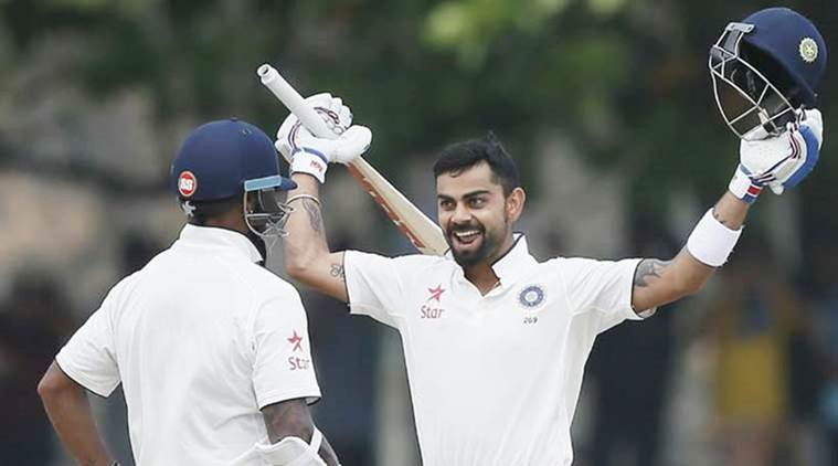India won 3 Test series and one-off Test against Bangladesh in 2017.