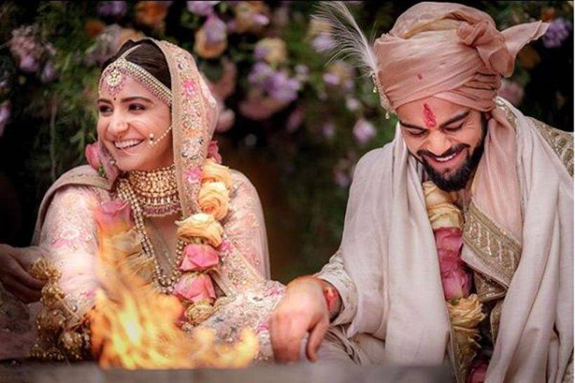 Anushka Sharma and Virat Kohli tie the knot!