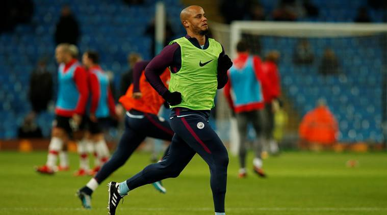 Vincent Kompany is captain of Manchester City