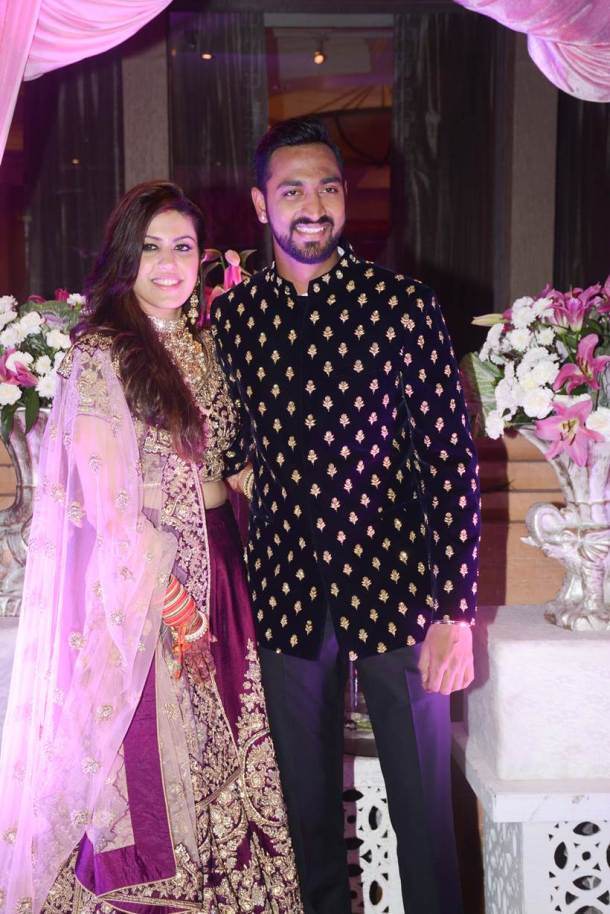 Indian cricketers light-up Krunal Pandya's wedding ceremony in Mumbai, see pics