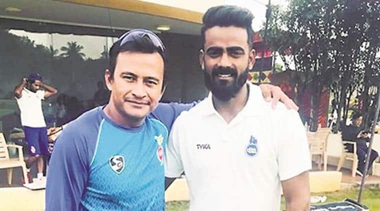 Ranji Trophy 2017, Ranji Trophy 2017 semi-final, Kulwant Khejroliya, Kulwant Khejroliya bowling, Kulwant Khejroliya Delhi, sports news, cricket, Indian Express