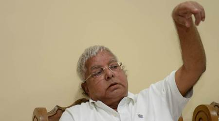 Lalu Prasad reaching Delhi for treatment at AIIMS