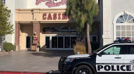 Two Las Vegas security guards fatally shot in hotel-casino
