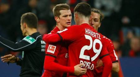 Bayer Leverkusen move fourth in Bundesliga with 2-0 win in Stuttgart