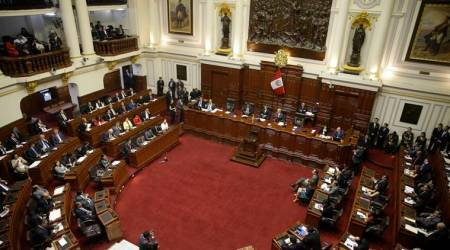 Two top officials quit Peru government amid politicalcrisis