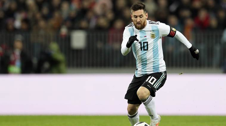 Lionrl Messi is yet to win a tournament for Argentina, is eyeing to win 2018 World Cup title