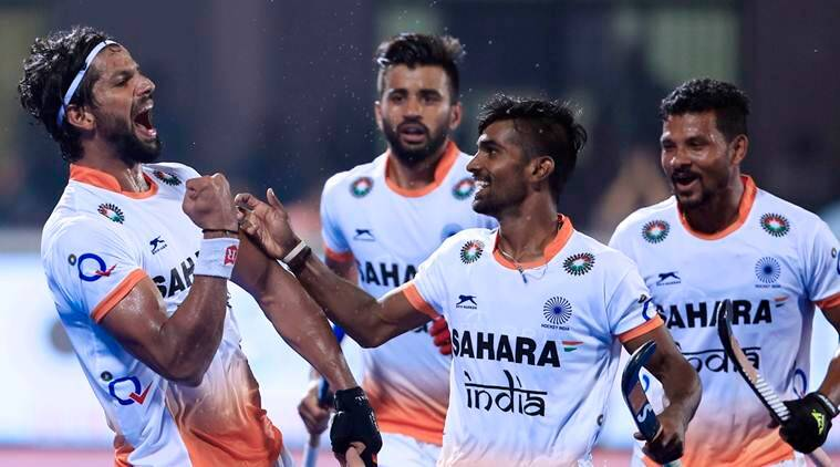 India beat Belgium, HWL, Hockey World League, india vs belgium hockey, hockey news, sports news, indian express