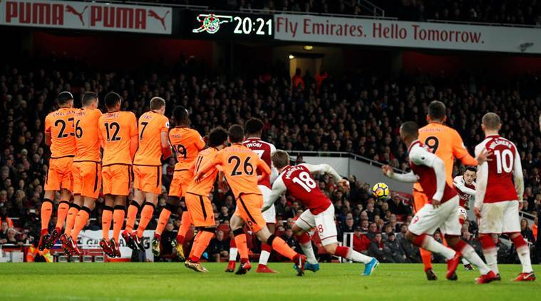 ARSENAL 3-3 LIVERPOOL at Emirates — FULL TIME
