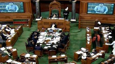 Lok Sabha, Lok Sabha new member, Lok Sabha members take oath, India news, Indian Express news