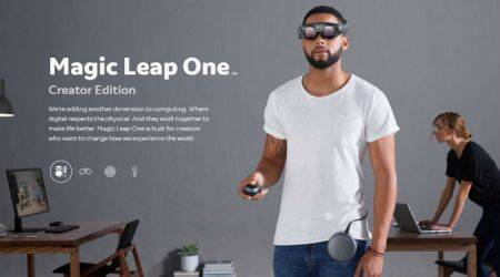 Magic Leap gives a glimpse of upcoming 'mixed reality' headset