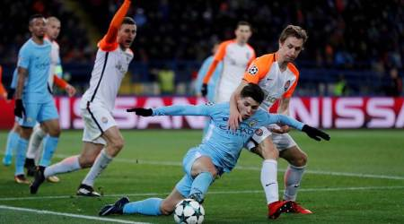 Champions League: Shakhtar beat Manchester City 2-1 to reach last 16