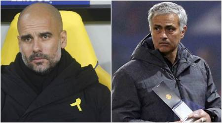 Manchester derby: Pep Guardiola and Jose Mourinho