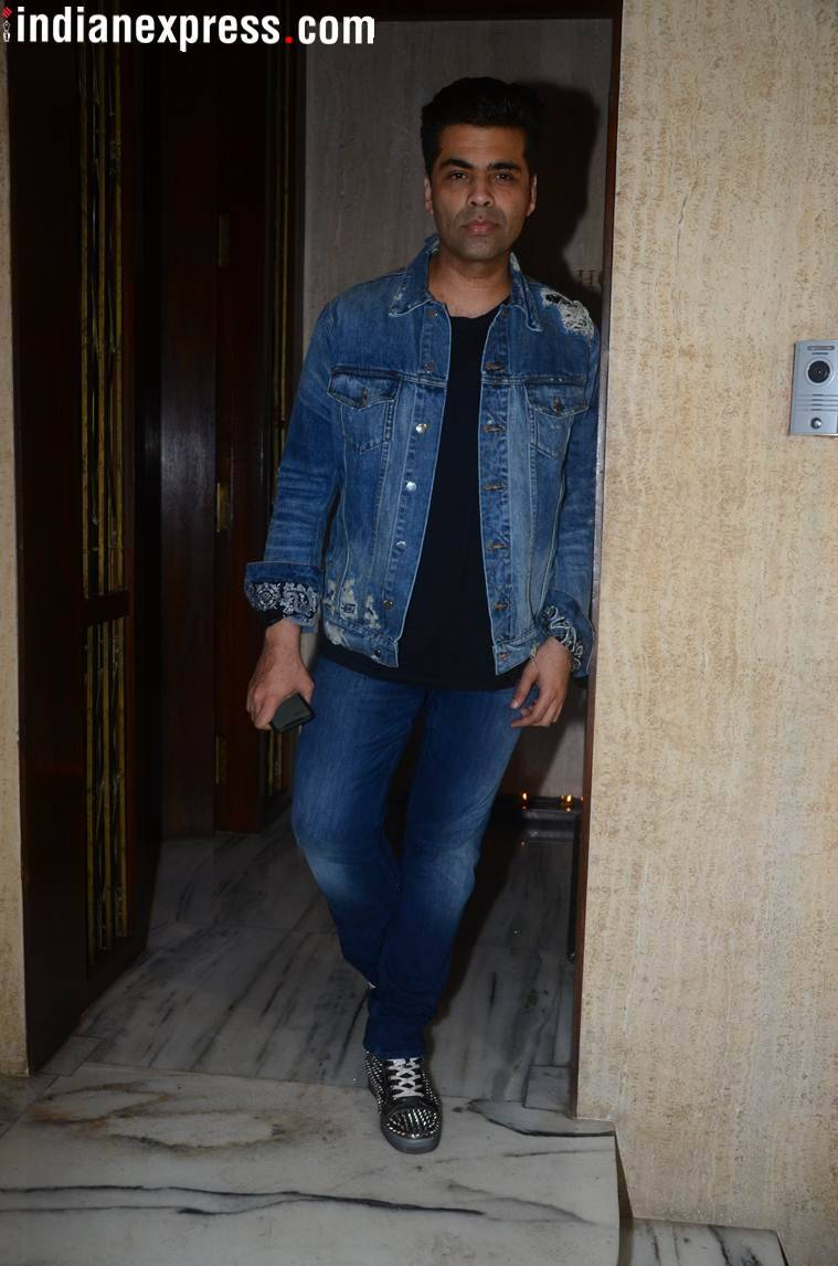 karan johar  manish malhotra birthday party