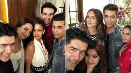 manish malhotra birthday party photos