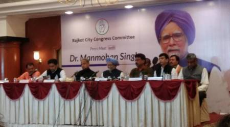 Congress party has a vision for transformation of Gujarat, says Manmohan Singh