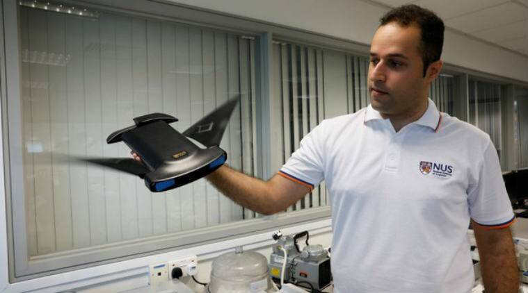 Scientists have created an underwater robot designed to resemble the manta ray, whose fin-based propulsion has been a mystery to researchers.