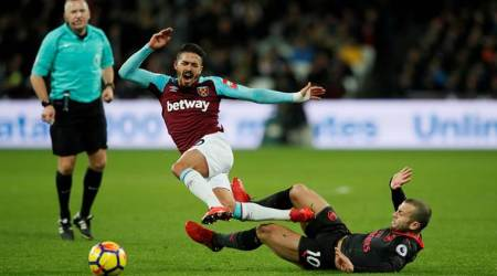 West Ham United's Manuel Lanzini banned for two games after FA rejectappeal