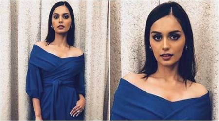Manushi Chhillar nails power dressing and party wear with one outfit