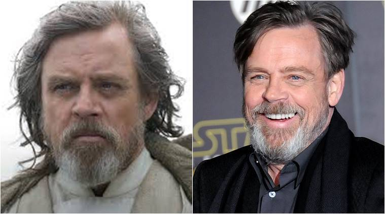 Mark Hamill portrays the role of Luke Skywalker in Star War