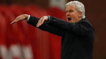 Pressure on Mark Hughes as West Ham beat Stoke City 3-0