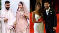 Hitched: Sports stars who tied the knot in2017