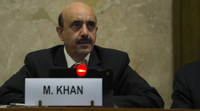 masood khan, kashmir issue, pakistan, united nations, indian express