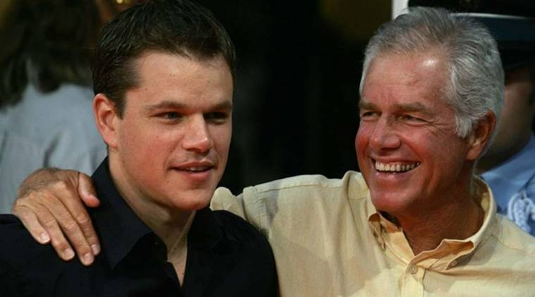 Matt Damon's father has died in Massachusetts at age 74 after a long battle with cancer.