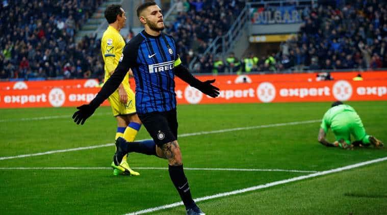 Mauro Icardi, Mauro Icardi Inter Milan, Mauro Icardi goals, sports news, football, Indian Express