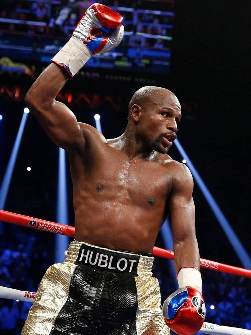 Floyd Mayweather retirement in 2017