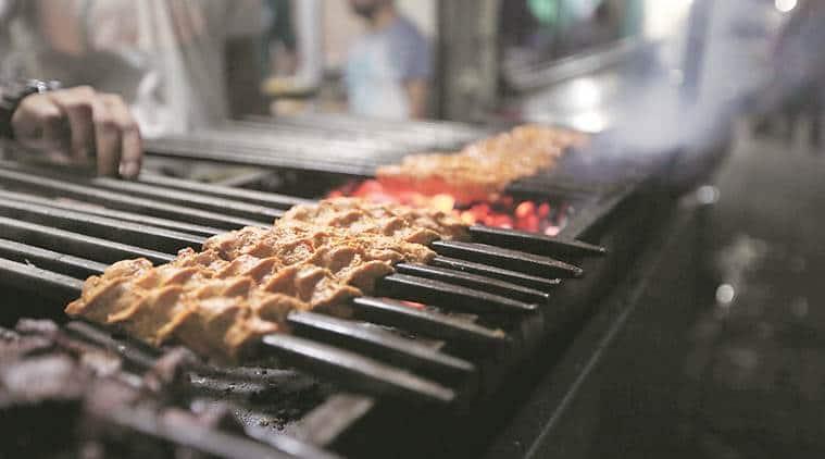 Uttar pradesh, UP meat shops, meat shop licence, licence to meat shops, indian express