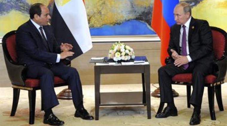 egypt, russia, russian flights, egypt president, abdel fattah al-sisi, security protocol, indian express, world news, TASS