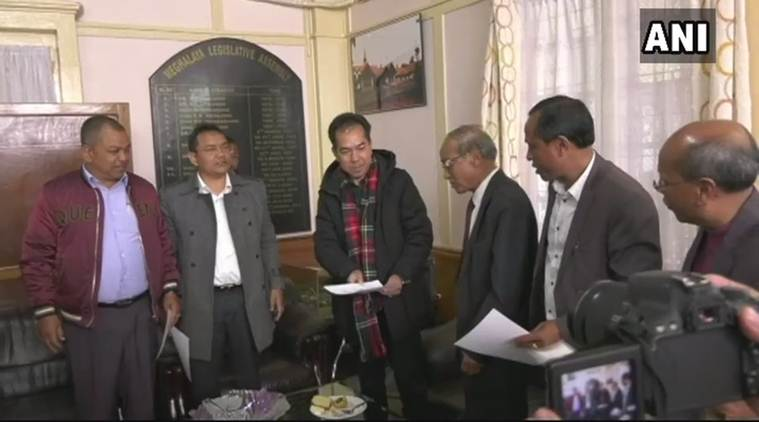 Meghalaya Eight Mlas, Five From Congress, Resign To Join -8509