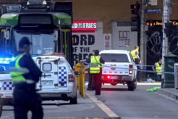 melbourne photos, australia attack photos, flinders street pics, car attack images, melbourne attacker picture, melbourne car attack images, pedestrians, world photos, car attack pics, indian express