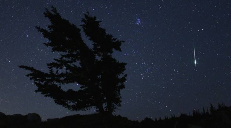 NASA's tips for watching the meteor shower tonight