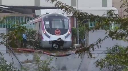 Kalindi Kunj metro crash: DMRC suspends officials including depot in-charge