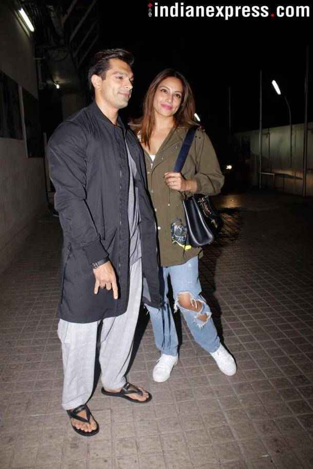 Bipasha Basu and Karan Singh Grover were also spotted in the city.