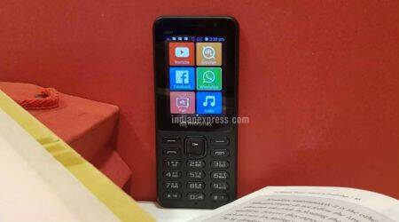 Micromax Bharat 1 can run WhatsApp, and that's a big win over the Reliance JioPhone