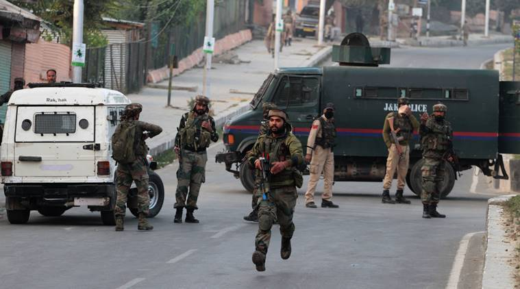Top JeM terrorist killed in Kashmir's Pulwama, encounter continues